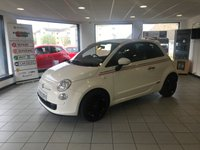 USED 2012 12 FIAT 500 0.9 TWINAIR PLUS 3d 85 BHP