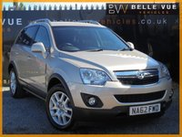 USED 2013 62 VAUXHALL ANTARA 2.2 EXCLUSIV CDTI 4WD S/S 5d 161 BHP *LOW MILEAGE, 6 SERVICE STAMPS, 4X4!*