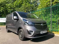 USED 2018 67 VAUXHALL VIVARO 1.6 L1H1 2900 SPORTIVE CDTI 1d 120 BHP All Vehicles with minimum 6 months Warranty, Van Ninja Health Check and cannot be beaten on price!