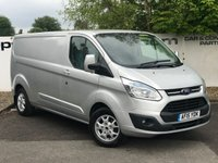 USED 2015 15 FORD TRANSIT CUSTOM 290 2.2 155 BHP LIMITED L2 H1**CHOOSE FROM 85 VANS**