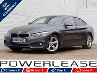 USED 2016 16 BMW 4 SERIES 2.0 420D SE GRAN COUPE 4d 188 BHP SAT NAV HEATED LEATHER SEATS