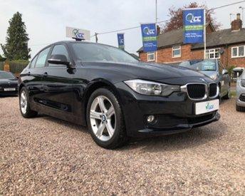 2012 BMW 3 SERIES 2.0 320D SE 4d 184 BHP £13295.00
