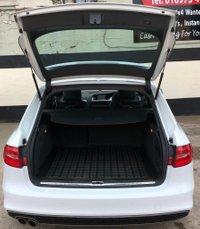 USED 2015 15 AUDI A4 2.0 AVANT TDI S LINE START/STOP 5DR 150 BHP, HEATED LEATHER SEATS, NAV. ELECTRIC TAILGATE, PARKING SENSORS, DAB RADIO