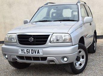 2002 SUZUKI GRAND VITARA 1.6 SPORT 16V 3d 92 BHP £1200.00