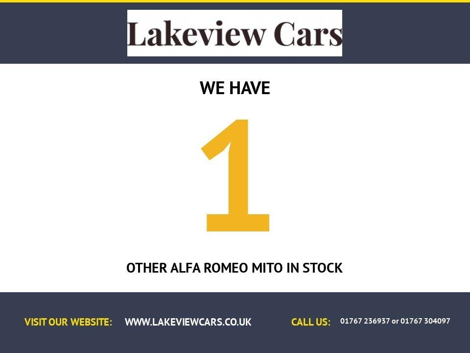 USED 2010 59 ALFA ROMEO MITO 1.4 TURISMO 16V 3d 95 BHP