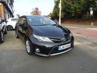 2013 TOYOTA AURIS 1.3 ICON DUAL VVT-I 5d 98 BHP £SOLD
