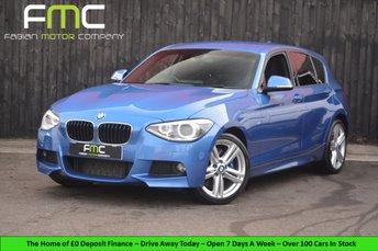 2014 BMW 1 SERIES 2.0 118D M SPORT 5d 141 BHP £10999.00