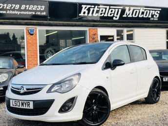 2013 VAUXHALL CORSA 1.2 LIMITED EDITION 5 Door £4995.00
