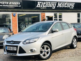 2011 FORD FOCUS 1.6 ZETEC 5 Door £4995.00