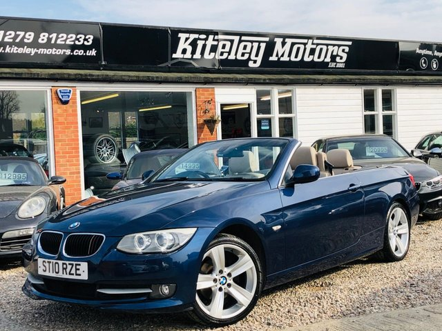2010 10 BMW 3 SERIES 320i SE CONVERTIBLE