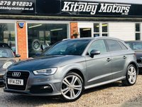 USED 2014 14 AUDI A3 1.4 TFSI S LINE HIGH SPECIFICATION
