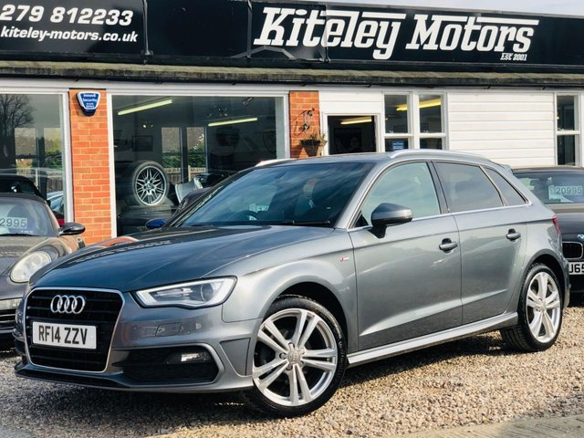 2014 14 AUDI A3 1.4 TFSI S LINE HIGH SPECIFICATION