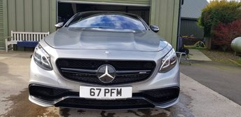 2015 MERCEDES-BENZ S-CLASS COUPE Mercedes 5.5 S63 AMG 2dr £54990.00