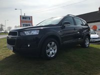 USED 2012 62 CHEVROLET CAPTIVA 2.2 LT 184 VCDI 7 seats 4x4 black very clean please compare
