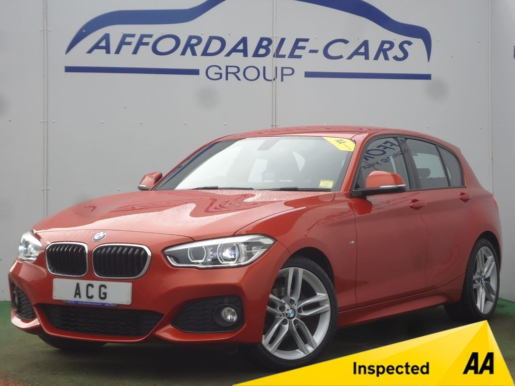 USED 2015 65 BMW 1 SERIES 118i 1.5 M SPORT
