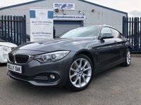 2015 BMW 4 SERIES 2.0 420D XDRIVE LUXURY GRAN COUPE 4d AUTO 181 BHP £12495.00