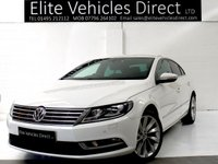 2014 VOLKSWAGEN CC 2.0 GT TDI BLUEMOTION TECHNOLOGY 4d 138 BHP