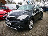 USED 2013 62 VAUXHALL MOKKA 1.7 TECH LINE CDTI S/S 5d 128 BHP +RARE 4X4 - FINANCE AVAILABLE+
