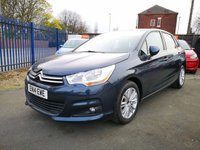 USED 2014 14 CITROEN C4 1.6 VTR PLUS HDI 5d  FULL SERVICE HISTORY - £20 TAX