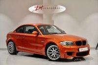 USED 2011 61 BMW 1 SERIES 3.0 M 2d 340 BHP HUGE SPECIFICATION & FULL BMW HISTORY LED WHEEL/NAV/HK/HEATED SEATS