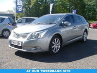 USED 2010 59 TOYOTA AVENSIS 2.0 TR D-4D 5d 125 BHP AT OUR TWEEDBANK SITE
