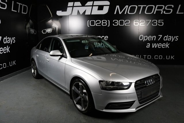 2013 13 AUDI A4 2.0 TDI SE TECHNIK 134 BHP (FINANCE AND WARRANTY)