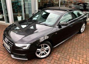 2014 AUDI A5 2.0 SPORTBACK TDI S LINE S/S 5d AUTO 148 BHP £15750.00