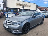2013 MERCEDES-BENZ C CLASS 2.1 C250 CDI BLUEEFFICIENCY AMG SPORT 2d AUTO 204 BHP £SOLD