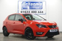2015 SEAT IBIZA 1.2 TSI FR BLACK EDITION 5 DOOR 105 BHP £7990.00