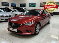 USED 2016 16 MAZDA 6 2.2 D SE-L NAV 4d 148 BHP 2 YEAR FREE WARRANTY INCLUDED!