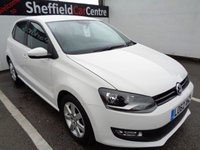 USED 2012 62 VOLKSWAGEN POLO 1.4 MATCH DSG 5d AUTO 83 BHP £177 A MONTH PRIVACY GLASS  SIX MAIN DEALER SERVICES ALLOY WHEELS AIR CONDITIONING