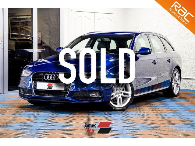 USED 2013 13 AUDI A4 2.0 AVANT TDI S LINE START/STOP 5d 148 BHP Three Owners | 5-Stamp Audi Service History