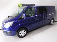 USED 2016 16 FORD TRANSIT CUSTOM 2.2 290 LIMITED LR DCB 1d 124 BHP