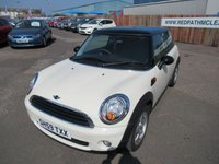 2009 MINI HATCH FIRST 1.4 FIRST 3d 75 BHP £3995.00