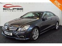 2010 MERCEDES-BENZ E CLASS 3.0 E350 CDI BLUEEFFICIENCY SPORT 2d AUTO 231 BHP £9995.00