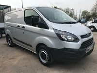 2014 FORD TRANSIT CUSTOM 310 100PS SWB L1 EURO 5 **AIRCON**GREAT VALUE** £6495.00