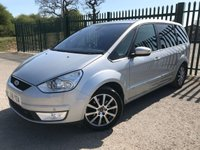 2008 FORD GALAXY 2.0 GHIA TDCI 5d 143 BHP 7 SEATS PANORAMIC SUNROOF ALLOYS LEATHER PRIVACY CRUISE TOWBAR  £4990.00