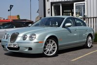 USED 2007 07 JAGUAR S-TYPE 2.7 SE D 4d AUTO 206 BHP ONLY ONE OWNER FROM NEW & FULL SERVICE HISTORY WITH 10 SERVICE STAMPS