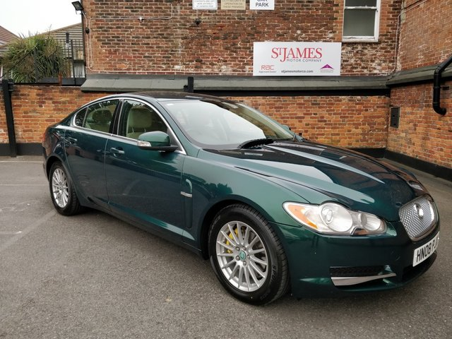 2008 JAGUAR XF 2.7 LUXURY V6 4d AUTO 204 BHP