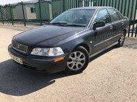 2001 VOLVO S40 1.9 D 4d 102 BHP ALLOYS A/C MOT 08/19 £390.00