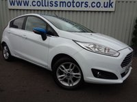 2017 FORD FIESTA 1.2 ZETEC WHITE EDITION SPRING 5d 81 BHP £9295.00