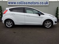 USED 2017 66 FORD FIESTA 1.2 ZETEC WHITE EDITION SPRING 5d 81 BHP