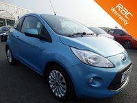 USED 2011 11 FORD KA 1.2 ZETEC 3d 69 BHP
