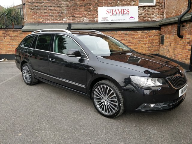 2014 14 SKODA SUPERB 2.0 LAURIN AND KLEMENT TDI CR DSG 5d AUTO 139 BHP