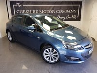2013 VAUXHALL ASTRA 1.4 ACTIVE 5d + 1 OWNER FROM NEW WITH HISTORY £4275.00
