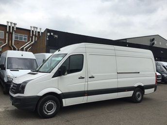 2013 VOLKSWAGEN CRAFTER 2.0TDI CR35 LWB HIGH ROOF STARTLINE. LOW 60K. NEW CLUTCH. PX £8490.00