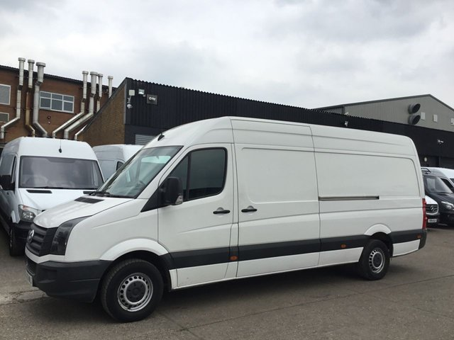0982721e26 2013 63 VOLKSWAGEN CRAFTER 2.0TDI CR35 LWB HIGH ROOF STARTLINE. LOW 60K.  NEW CLUTCH. PX