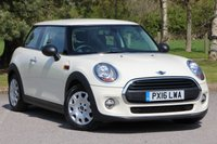 2016 MINI HATCH ONE 1.2 ONE 3d 101 BHP £8980.00
