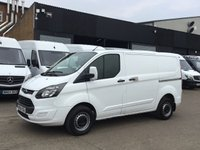 USED 2014 64 FORD TRANSIT CUSTOM 2.2TDCI 270 99BHP COLOUR CODED. FINANCE. PX WELOCME FULLY COLOUR CODED. LOW FINANCE. PX WELCOME