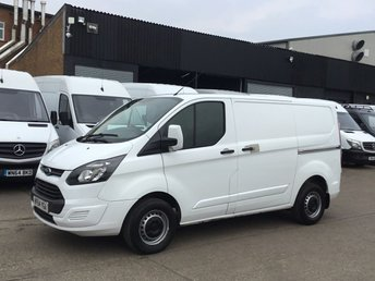 2014 FORD TRANSIT CUSTOM 2.2TDCI 270 99BHP COLOUR CODED. FINANCE. PX WELOCME £6990.00